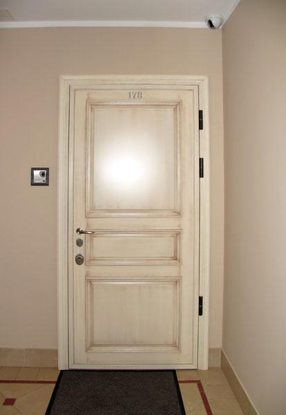 стальные сварные филенчатые двери